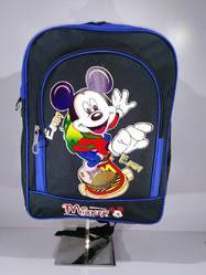 School Customised Backpack Mickey Printed