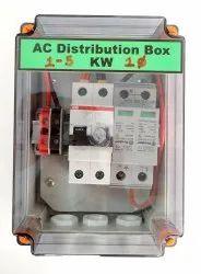 Solar ACDB 1-6 kW with AC SPD, Voltage: 230 V