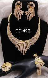 Glamore Hi-Fashion Jewellery Cubic Zirconia Nacklace