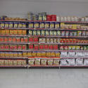 Grocery Store Display Shelves