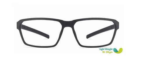 4097b21a327 Vincent Chase Matte Black Lemon Full Rim Rectangle Medium Eyeglasses ...