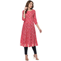 Fancy Cotton Anarkali Kurti
