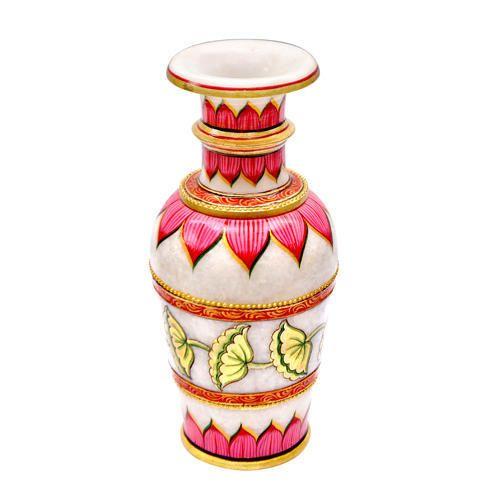 225 & Designer Marble Vases - Two Peacock Design Vase Manufacturer ...