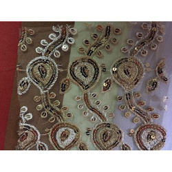 Embroidered Designer Fabric, Use: Suit
