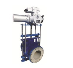 Electric Actuator Operated Pinch Valve