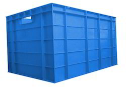 Square Solid Box Heavy Duty Automobile Crate, Size: 600X400X325, Capacity: 75 Ltr