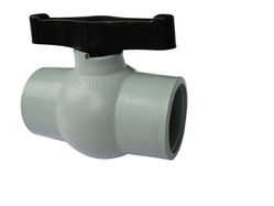 PP Solid Gray Valve