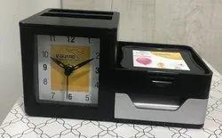 Clock Cum Pen Stand