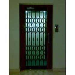 Manual Telescopic Elevator Doors