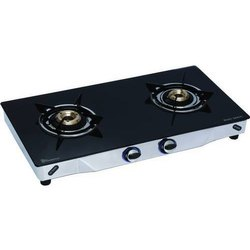 LPG GAS STOVE GLASS TOP