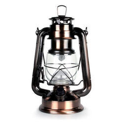 Glass Hanging Decorative Lantern, Battery Type: Rechargable