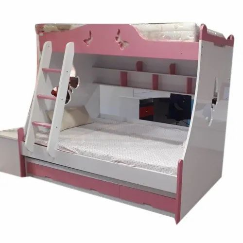 Wooden Modern Kids Double Bunk Bed For Home Rs 20000 Unit Ms G Shopee Id 11413730555