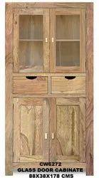 Riza Glass Door Cabinet