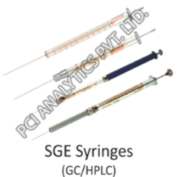 SGE Syringes for GC/HPLC