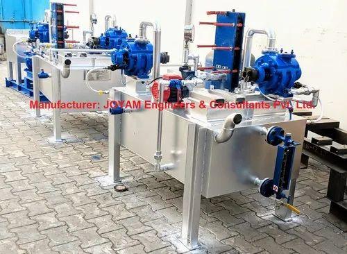 Water Re-Circulation Vacuum Pump System