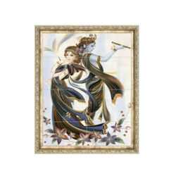 Ceramic Radha Krishna Wall Tile, Thickness: 18 mm, Size: 3x2 Feet