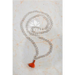 34 Long Crystal Mala, Size: 34 Inch , Packaging Type: Box
