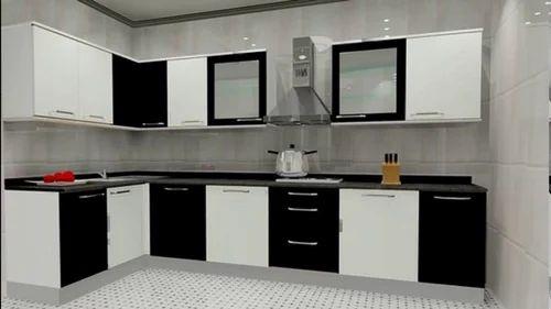 U Shape Wooden L Shaped Modular Kitchen Warranty 5 10 Years Rs
