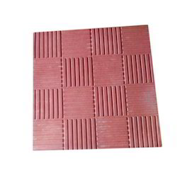 Interlocking Red Paver Tile, For Pavement