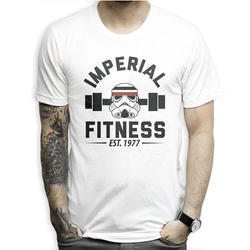 Mens White Printed T Shirts