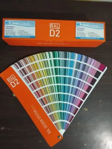 Colour Shade Cards Ral K5 Classic Gloss Colour Shade Card Manufacturer From Chennai