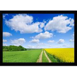 Wall Mount Black Fixed Frame Screen From 100 to 200, for Office, Screen Size: 100-200 Inch