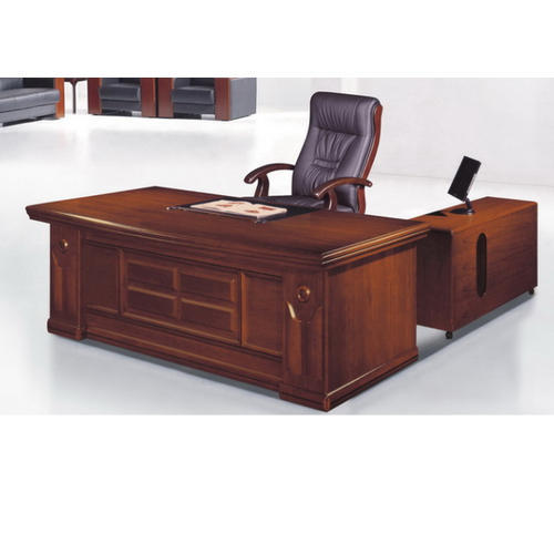 Brown Rectangular Wooden Office Table Rs 25000 Unit Outdoor Hub