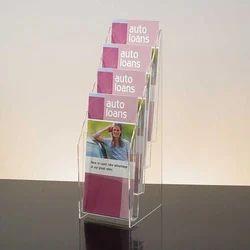 Box Wall Mounted Acrylic Brochure Holder