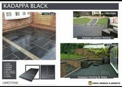 Kadappa Stone - Black Lime Stone