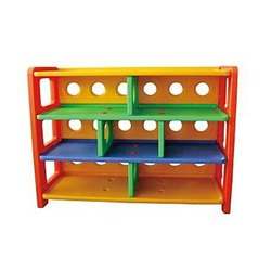 Kinder Art Plastic Type C Classic Toy Cabinet, For Home