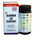 Urine Reagent Strip 3P AGpH (Albumin Glucose pH)