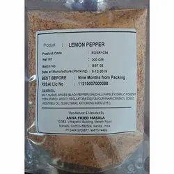 Powder 99 % Lemon Pepper, Packaging Type: Packet, Packaging Size: 200 gm