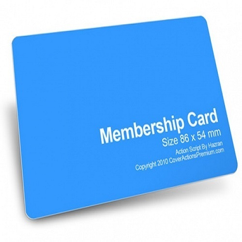 Rectangular Pvc Membership Cards Size  X  Mm Rs  Piece
