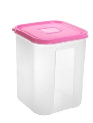 Square Plastic Container 2500 ml
