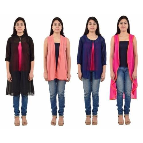a6637832aba Women Stylish Georgette Designer Shrugs at Rs 150  piece