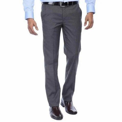 f6ec7d163f Cotton Men's Checked Formal Pant, Rs 600 /piece, R J COTTON | ID ...