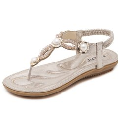 Women PU Elastic Flat Slipper, Size: 5 To 9