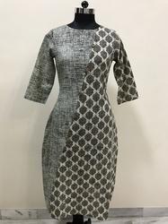 Geometrical Print Kurti / Tunic