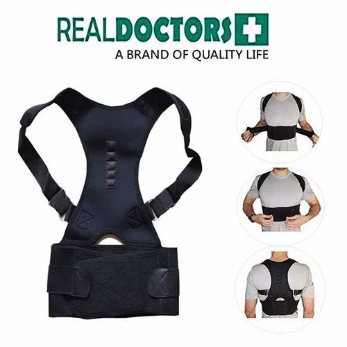 Neoprene Real Doctors Posture Support Brace Back Pain, Rs 110 ...