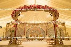 Wood Trending Wooden Carved Wedding Mandaps