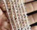 Clear Crystal Quartz Plain Beads