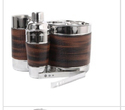 Leather Barware Set