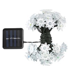 Hardoll Lotus Shape Solar Decorative String Light or Rice light / Diwali lights for decoration