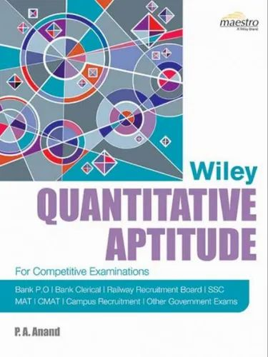 Wiley's Quantitative Aptitude Books
