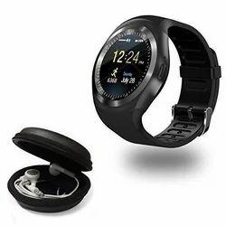 Black Bluetooth Watch Support SIM Card