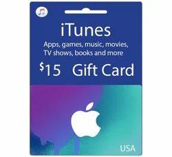 ITunes USA 15 Dollar Gift Card