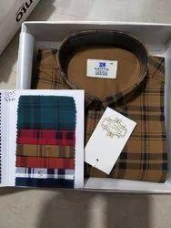 Cotton Checked Kento Shirts - 1325