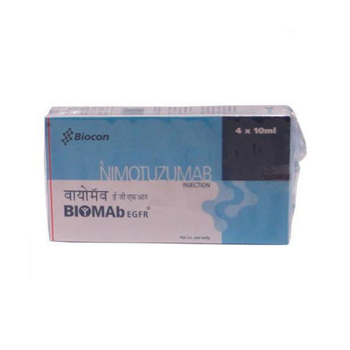 Nimotuzumab 50 Ml Biomab Injection, Packaging Type: Vials