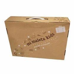 Corrugated Handle Box