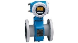 Stainless Steel Endress Hauser Flow Meter, For Automotive, Water